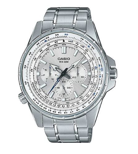 Casio MTP-SW320D-7AV Enticer Men's Watch