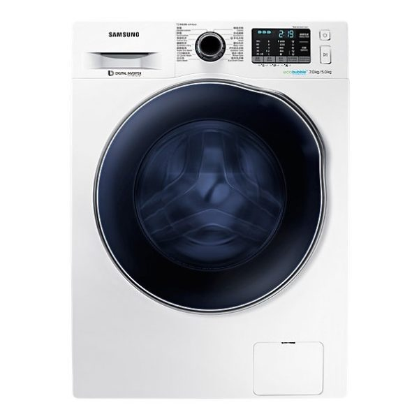 Samsung 7kg Washer & 5kg Dryer WD70J5410AW