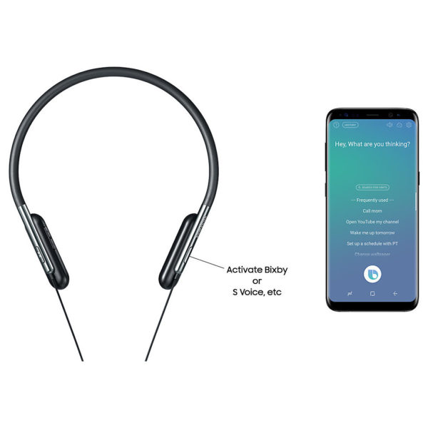 Buy Samsung Level U Flex Bluetooth In Ear Headset Black Price Specifications Features Sharaf Dg