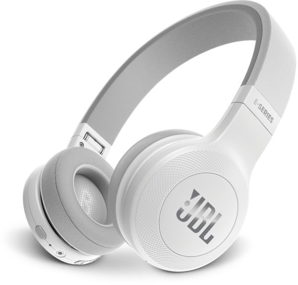 JBL E45BT Over Ear Headphone White