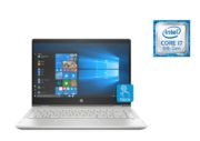 HP Pavilion x360 14-CD0003NE Convertible Touch Laptop - Core i7 1.6GHz 12GB 1TB+128GB 4GB Win10 14inch FHD Mineral Silver