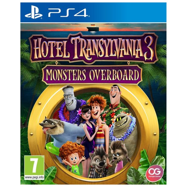 PS4 Hotel Transylvania 3: Monsters Overboard Game