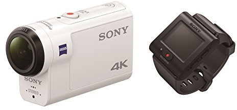 Sony FDRX3000R 4K Action Camera White W/ Live View Remote