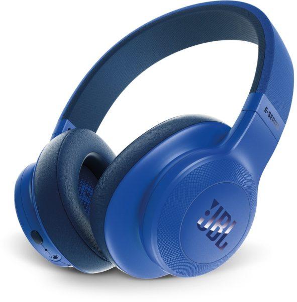 JBL Over Ear Headphone Blue E55BT