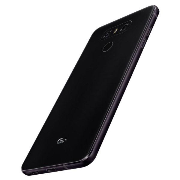 LG G6 Plus 4G Dual Sim Smartphone 128GB Black + Case