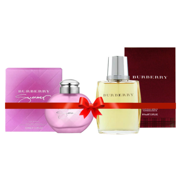 Burberry Summer Perfume For Women 100ml Eau de Toilette + Burberry Perfume For Men 100ml Eau de Toilette