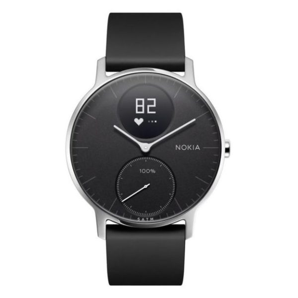 Nokia HWA03 Steel HR Watch 36mm Black