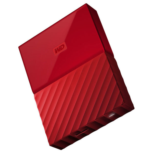 Western Digital My Passport Hard Drive 2TB Red WDBS4B0020BRD-WESN