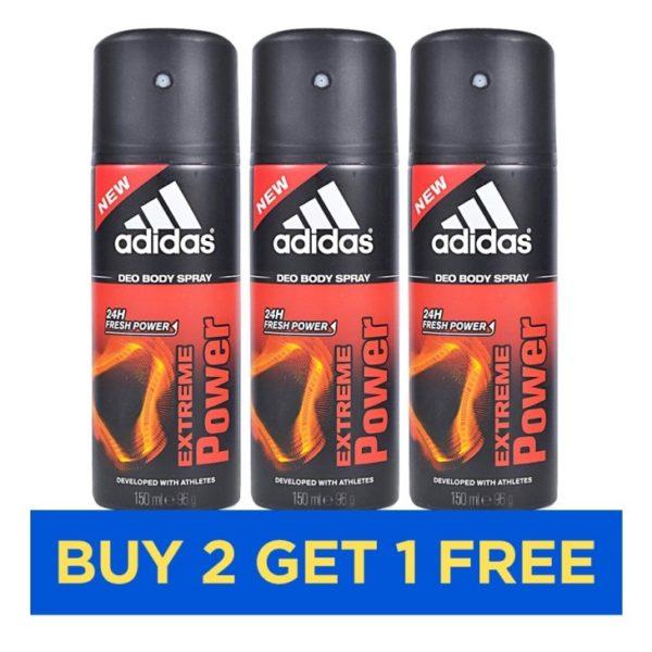 Adidas Extreme Power Men 150ml - Buy 2 Get 1 Free