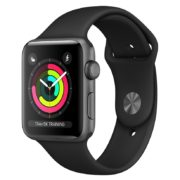 Apple Watch Series 3 GPS - 42mm Space Grey Aluminium Case with Black Sport Band