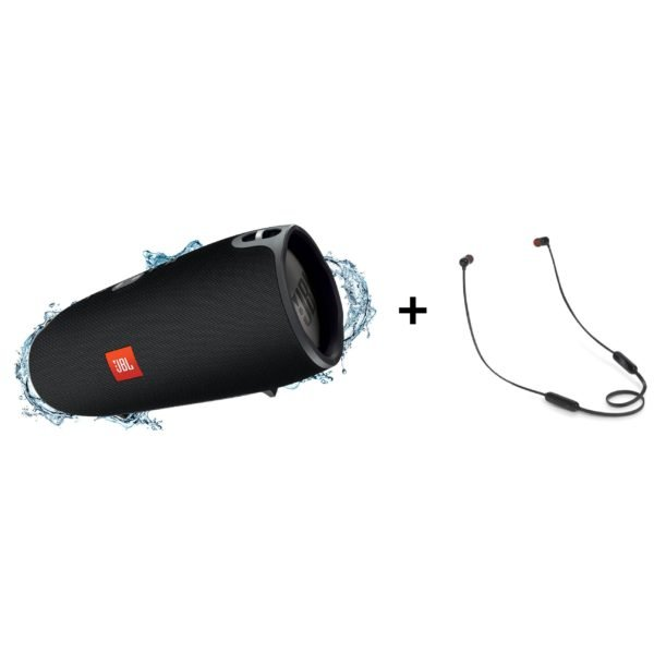 JBL XTREME Portable Bluetooth Speaker + T110BT In Ear Bluetooth Headset