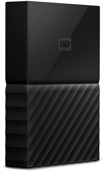 Western Digital WDBYNN0010BBK My Passport Hard Drive 1TB Black