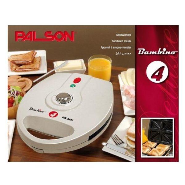 Palson Bambino 4 Sandwich Maker 30504
