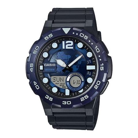 Casio AEQ-100W-2AV Youth Unisex Watch