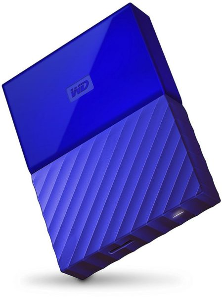 Western Digital WDBYFT0040BBL My Passport Hard Drive 4TB Blue