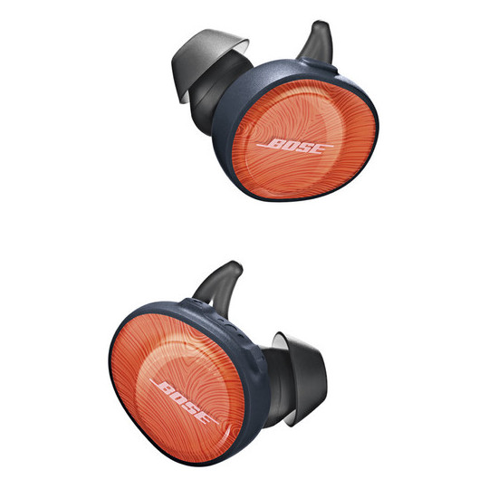 Bose Soundsport Free Wireless Earbuds - Orange/Navy