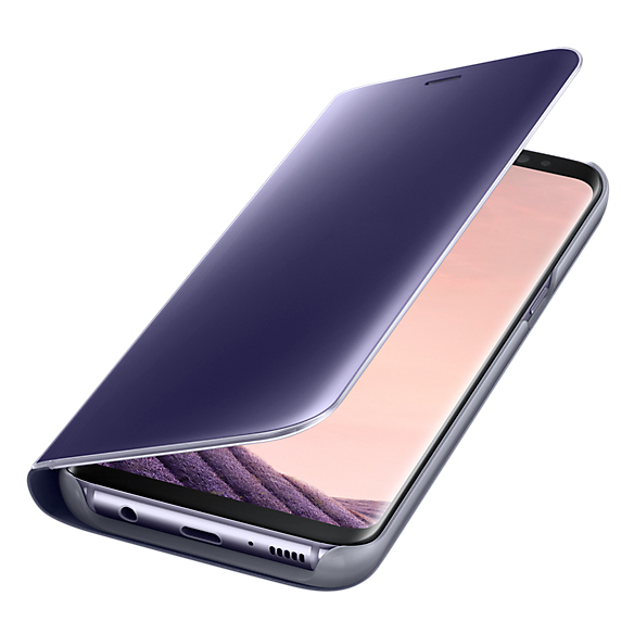 Samsung Clear View Standing Cover Violet For Galaxy S8+