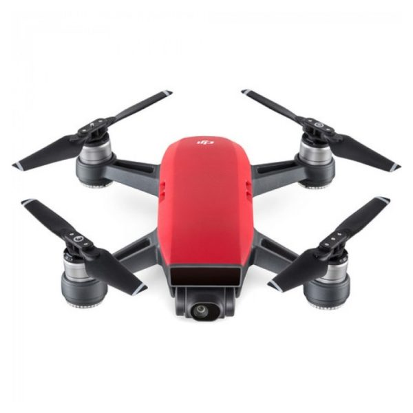 DJI Spark Quadcopter Alpine Lava Red Combo Pack