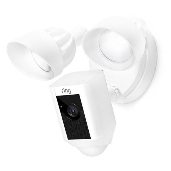 Ring Floodlight Camera White