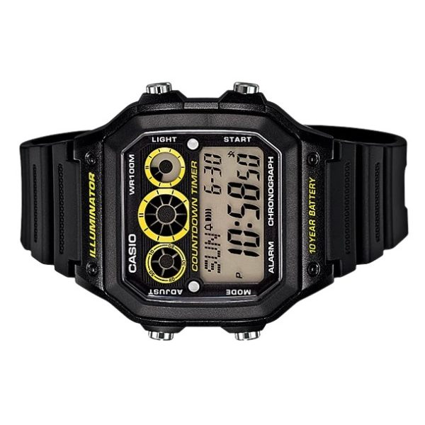 Casio AE-1300WH-1AV Youth Unisex Watch