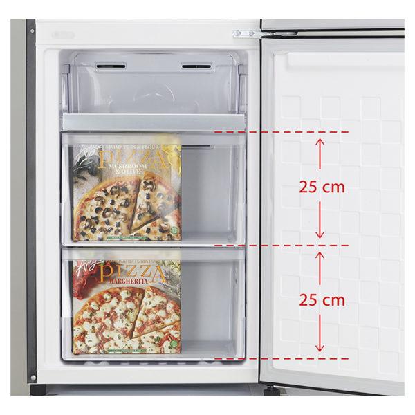 Hitachi Bottom Freezer 410 Litres RBG410PUK6XGBK
