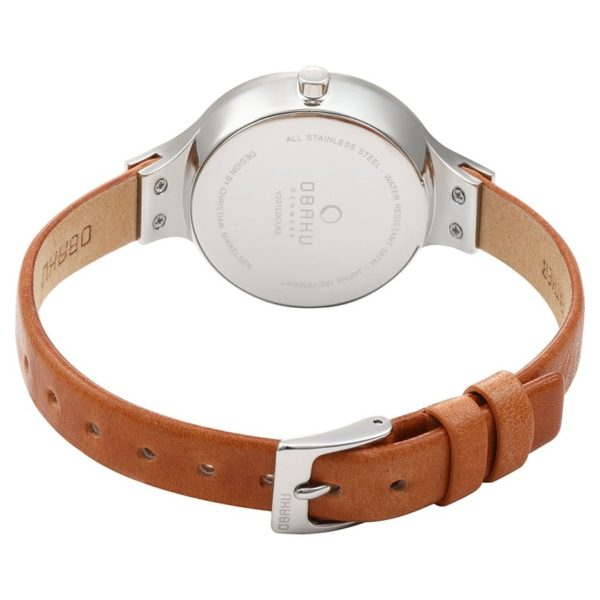 Obaku V201LDCLRZ Ladies Watch