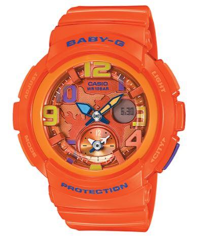 Casio BGA-190-4BDR Baby G Watch