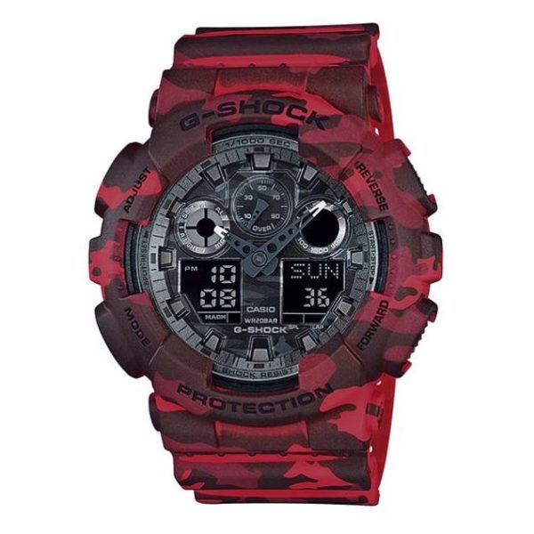 Casio GA-100CM-4A G-Shock Watch