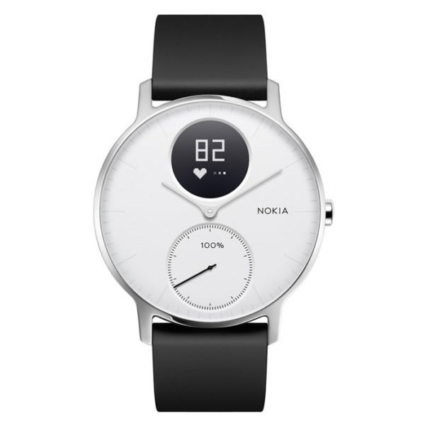 Nokia HWA03 Steel HR Watch 36mm White