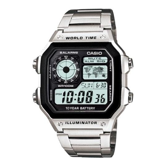 Casio AE-1200WHD-1AV Youth Unisex Watch