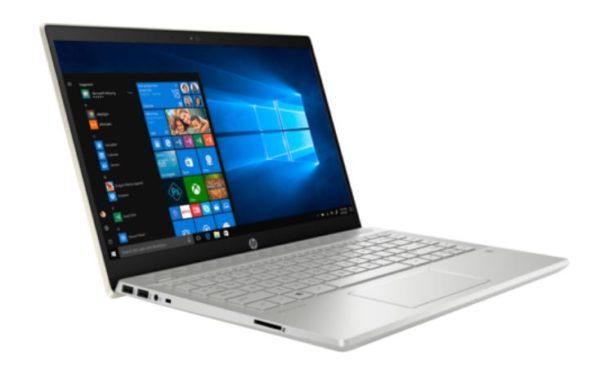 HP Pavilion 14-CE0001NE Laptop - Core i7 1.8GHz 8GB 1TB 2GB Win10 14inch FHD Pale Gold