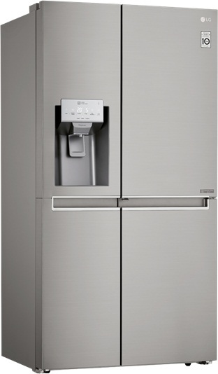 Lg Side By Side Refrigerator 620 Litres Grj257clav Price
