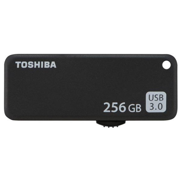 Toshiba U365 Trans Memory USB Flash Drive 256GB Black THNU365K2560E4