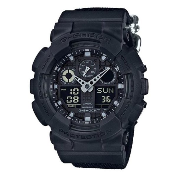 Casio GA-100BBN-1A G-Shock Watch