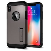 Spigen Tough Armor Case Gunmetal For Apple iPhone X 057CS22161