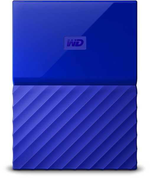 Western Digital WDBYNN0010BBL My Passport Hard Drive 1TB Blue