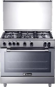 Tecnogas 4 Gas Burners Cooker N3X96G5VC
