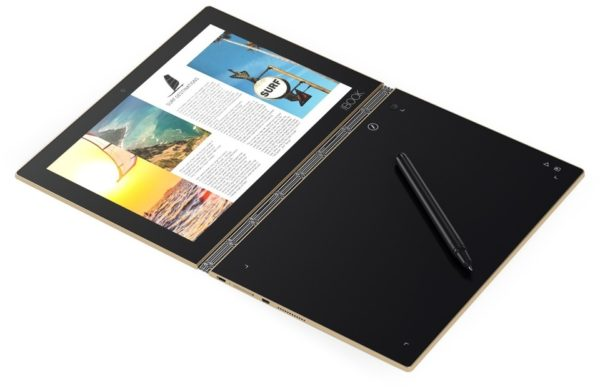 Lenovo Yoga Book YB1-X90L Tablet - Android WiFi+4G 64GB 4GB 10.1inch Gold