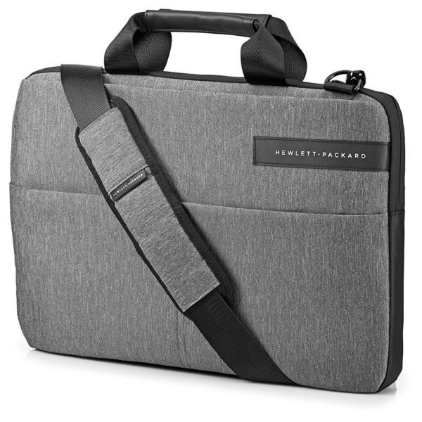 Buy Hp L6v67aa Signature Slim Topload Case 14inch Grey Price Specifications Features Sharaf Dg