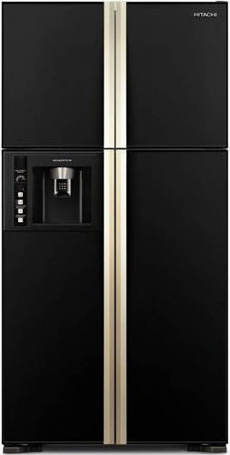 Hitachi Side By Side Refrigerator 720 Litres RW720PUK1GBK