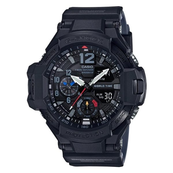 Casio GA11001A1DR G Shock Gravity Master Watch