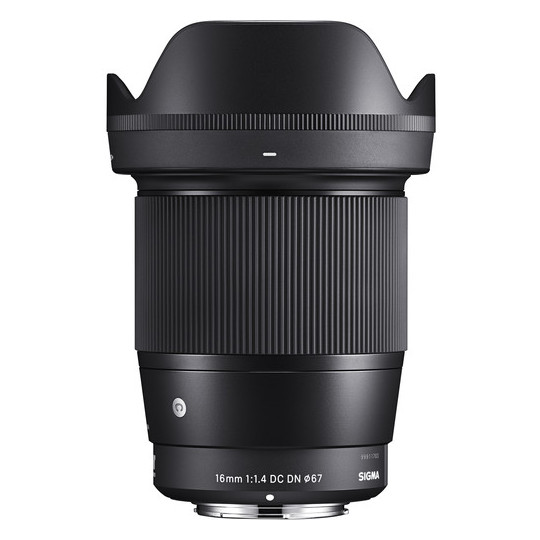 Sigma 16mm f/1.4 DC DN Lens For Sony E Mount Mirrorless Camera