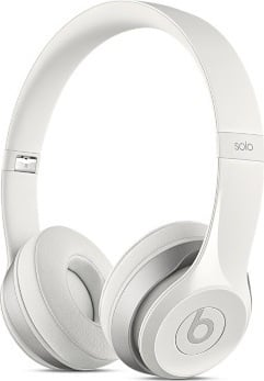 Beats By Dr. Dre MH8X2ZM/A Solo2 On Ear Headphone White