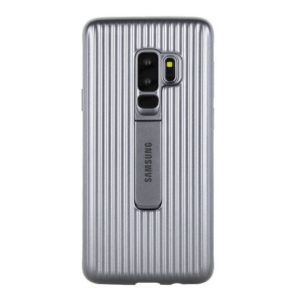 Samsung Protective Standing Cover Silver For Galaxy S9 - EF-RG960CSEGWW