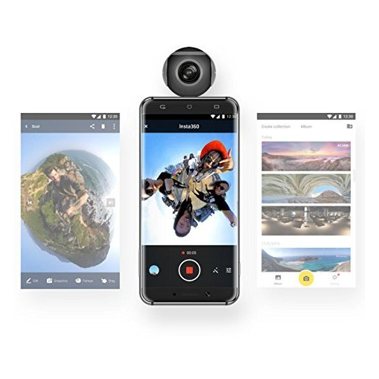 Insta360 Air Camera For Android (Micro USB) Black