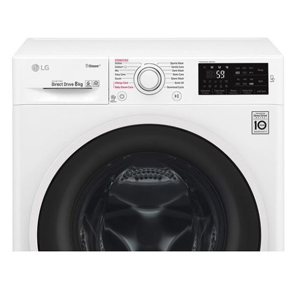 LG Front Load Washer 8kg F4J6TNP0W