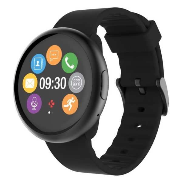 MyKronoz ZeRound2 Smart Watch Black