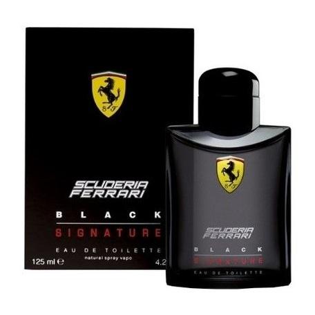 Ferrari Signature Black Perfume For Men 125ml Eau de Toilette
