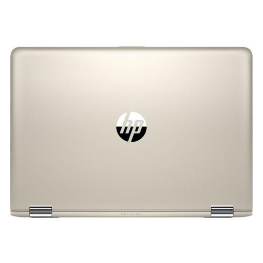 HP Pavillion x360 14-BA002NE Convertible Touch Laptop - Core i3 2.4GHz 4GB 1TB Shared Win10 14inch FHD Gold