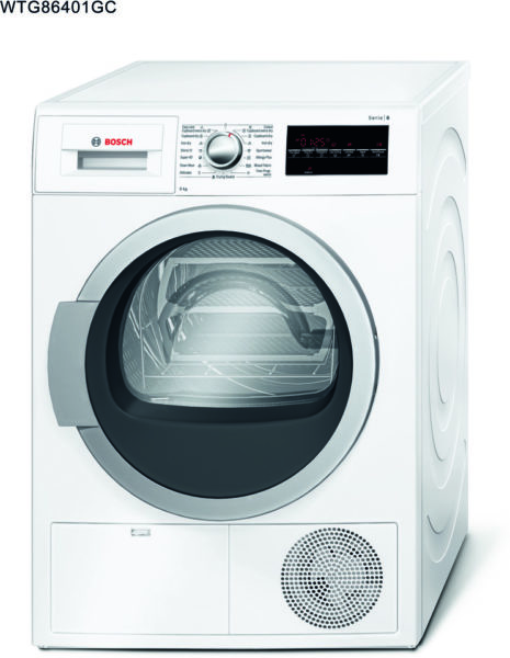 Bosch Dryer 9kg WTG86401GC